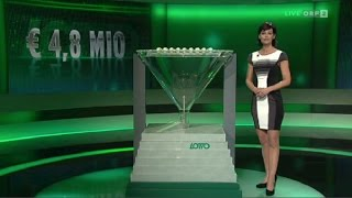 Lotto 6aus45 mit Joker vom 24. Januar 2016 in ORF 2
