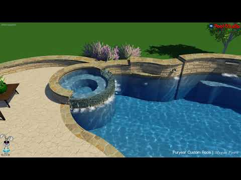 Custom Pool, Spa and Patio Cover for Mark and Janet M