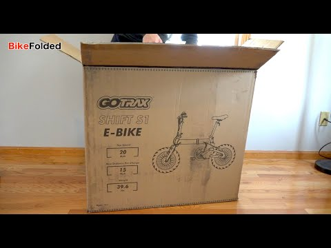 GOTRAX Shift S1 Folding Electric Bike Unboxing