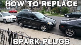 How to Replace Spark Plugs 2005-2011 Mercedes Benz ML350