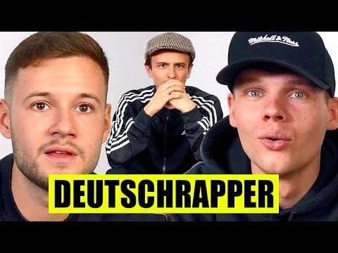 DEUTSCHRAPPER An SONGTITELN Erraten | Mit UnsympathischTV & Inscope21