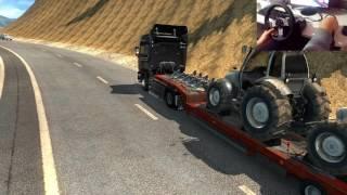 Euro Truck Simulator 2 Türkiye Haritası Trabzon-Elazığ seferi