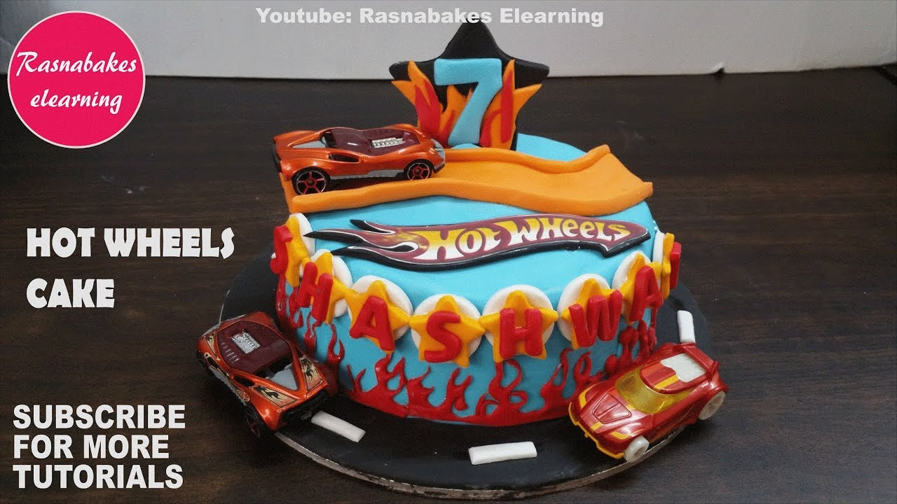 Hot Wheels Cars Track Birthday Cake Design Ideas Decorating Tutorials Classes Video Youtube