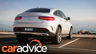 видео mercedes gle coupe