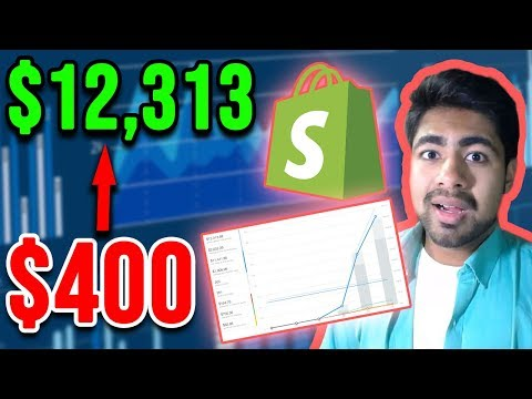 Turning $400 Into $12,313 Dropshipping With Aliexpress (FULL Strategy Revealed) thumbnail