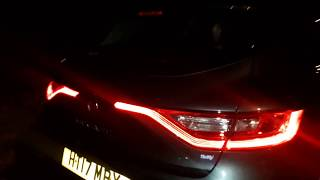 Renault Megane 2017 LED lights interior