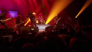 Anthrax - Caught in a Mosh @The Pageant 9/22/16 STL