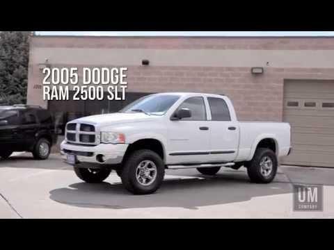 2005 Dodge Ram 2500 Slt Utah Motor Company Llc 801 722 5482