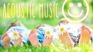 Upbeat Acoustic - Happy Acoustic Instrumental Background Music for Video