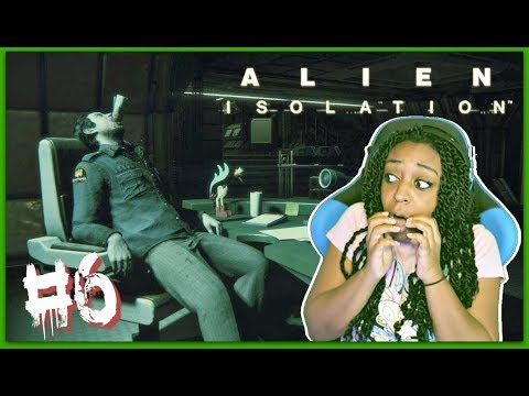 DON'T TOUCH ME!! | Alien: Isolation Episode 6 Gameplay!!