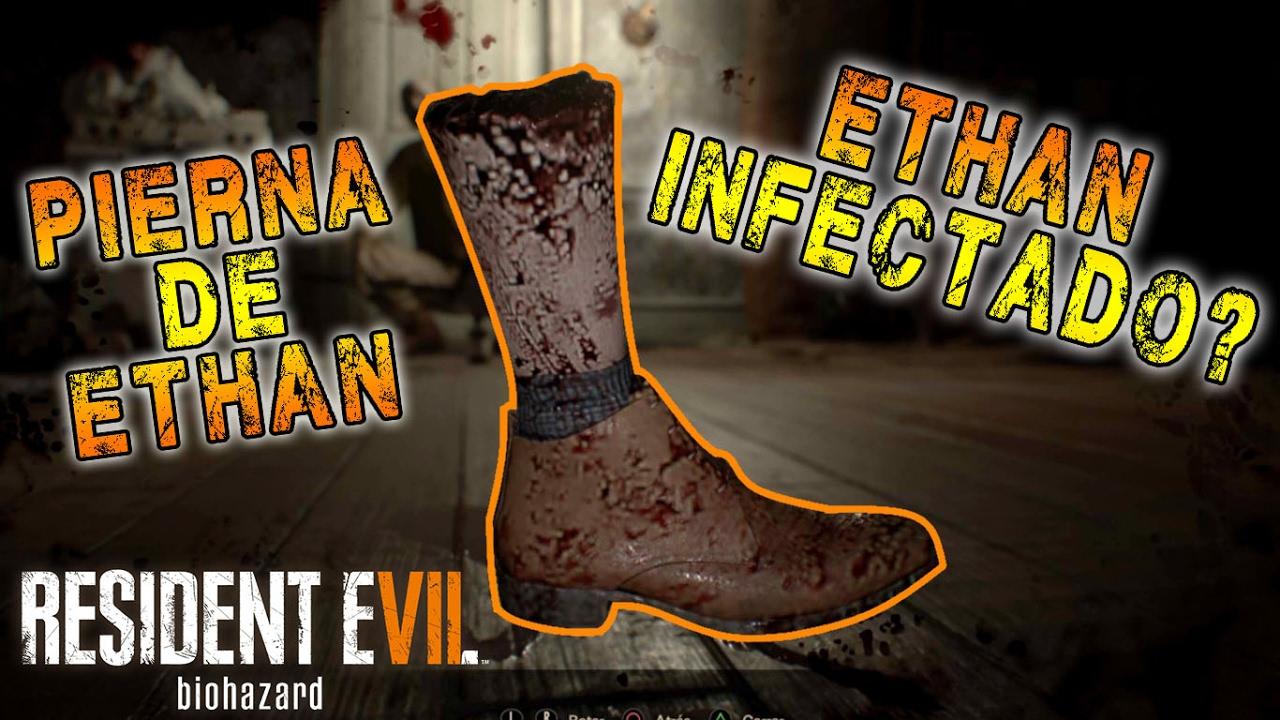 Truco Para Que Ethan Pierda Una Pierna Resident Evil 7