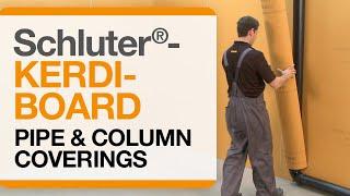 Schluter®-KERDI-BOARD: Pipe & Column Coverings