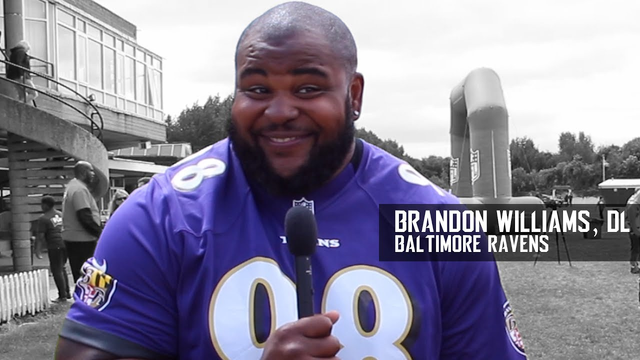 Brandon Williams of the Baltimore Ravens NFL Summer Bowl