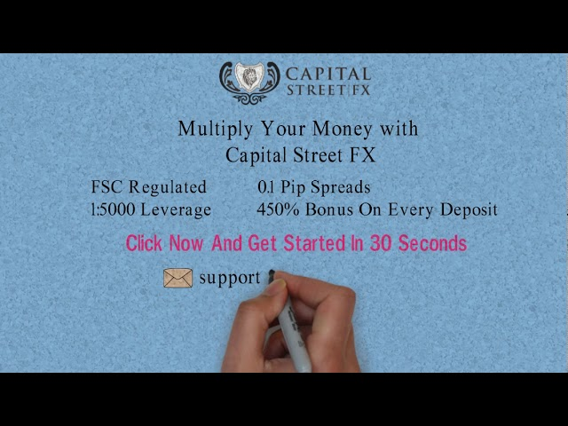 How to Make Online Money With Capital Street FX