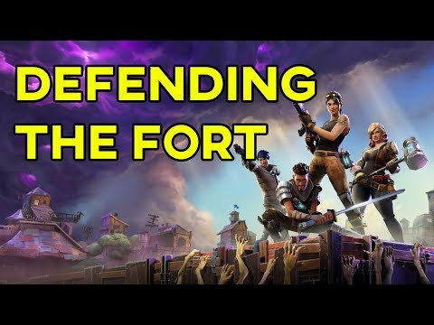 FORTNITE - Defending The Fort