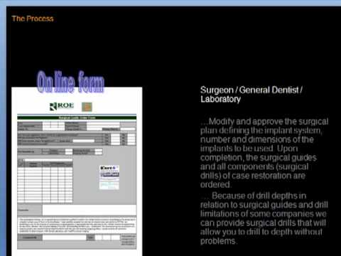 ROE Dental Laboratory - Dental Implant Planning from CT Scans - full version