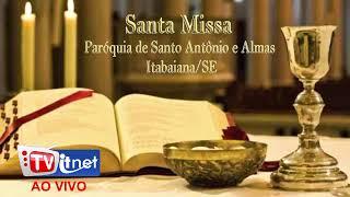 santa missa direto da igreja matriz santo antônio e almas