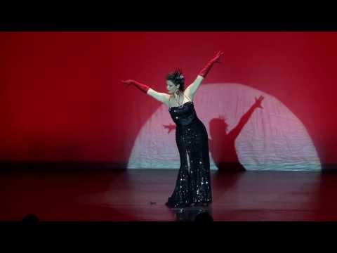 """""""Burlesco Tango"""", Mademoiselle B (Festival Burlesque Nouméa)"""