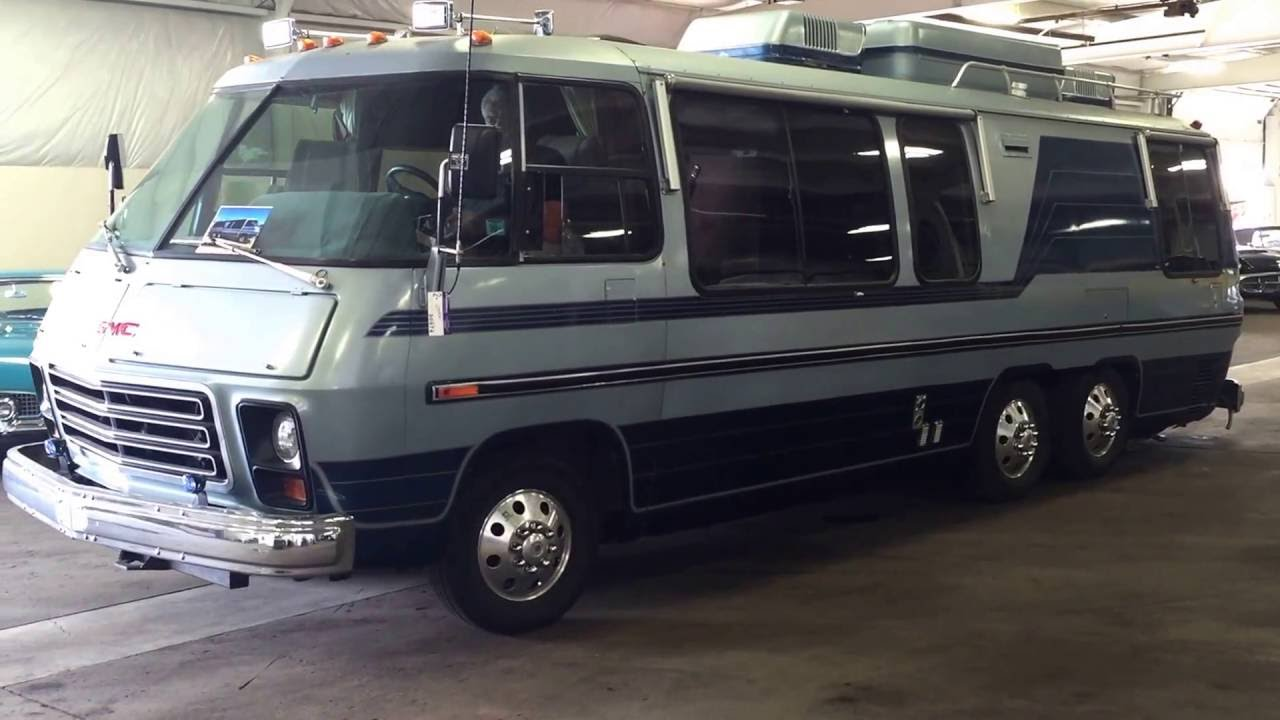 Gmc Motorhome For Sale >> 1977 Gmc Palm Beach 26 Motor Home For Sale Online Auction Youtube