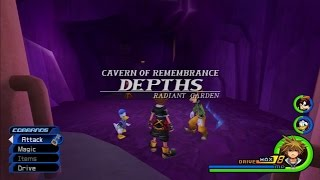 Kingdom Hearts 2 Final Mix [HD 2.5 ReMIX] - Cavern of Remembrance PART 1 [English - Proud]
