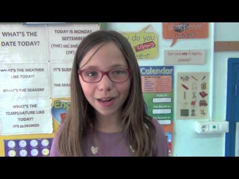Videomat 2016 Quantes paraules diu un nen o nena de l'Escola Misericòrdia de P3 a 6è?