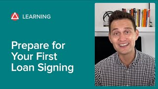 How to Prepare f๐r Your First Loan Signing