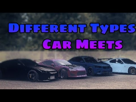 Different Types Of Car Meets In Assoluto Racing