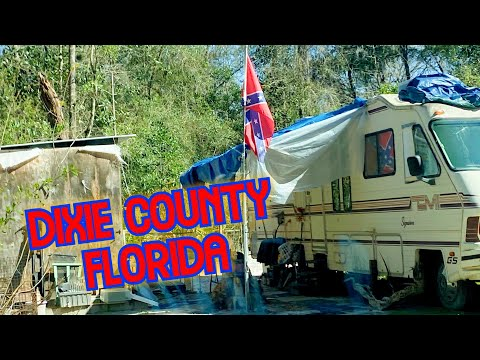 Dixie County Florida ~ RURAL POVERTY IN FLORIDA'S BACKWOODS #OLDTOWN #Abandoned
