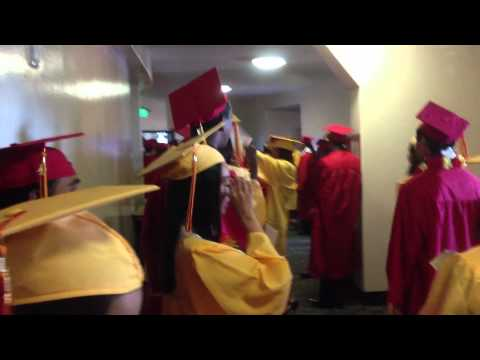 De Anza Senior High School Graduation 2012