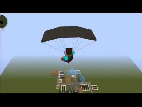 Minecraft Paraşüt Modu #Modlarla Minecraft 1
