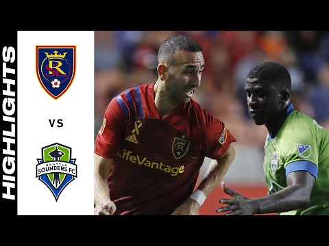 Real Salt Lake Seattle Sounders Goals And Highlights