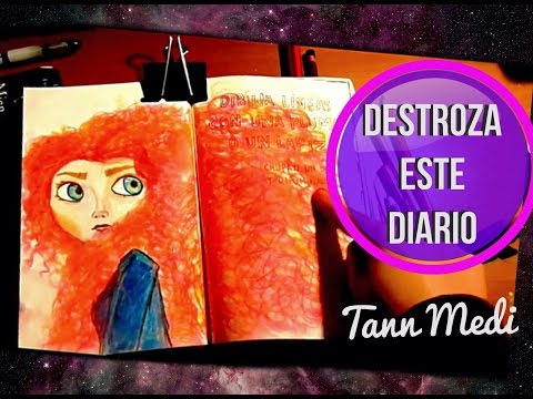 DESTROZA ESTE DIARIO #5 / WRECK THIS JOURNAL (tann medi)