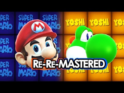 Super Mario 64 Title/Intro HD Remastered (Android) *Download*