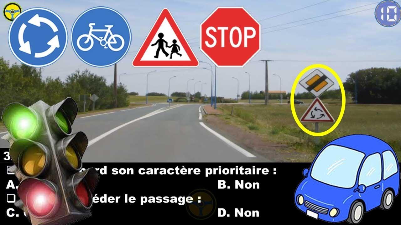 Download nouveau code de la route 😍  permis de conduire France 2021 😘 examen #7 code route