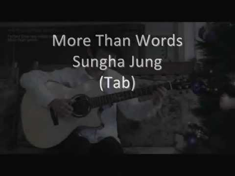 Sungha Jung More Than Words Tabs