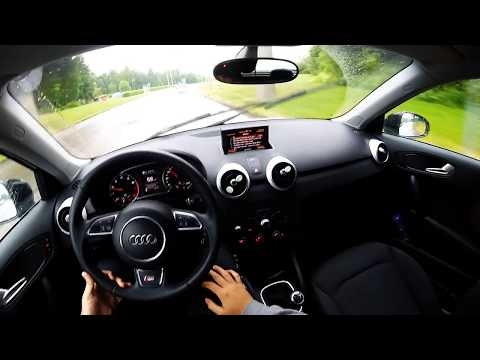 Audi A1 1.2 TFSI Sportback 2015 - POV Test DrivePOV OnBoard test drive GoPro