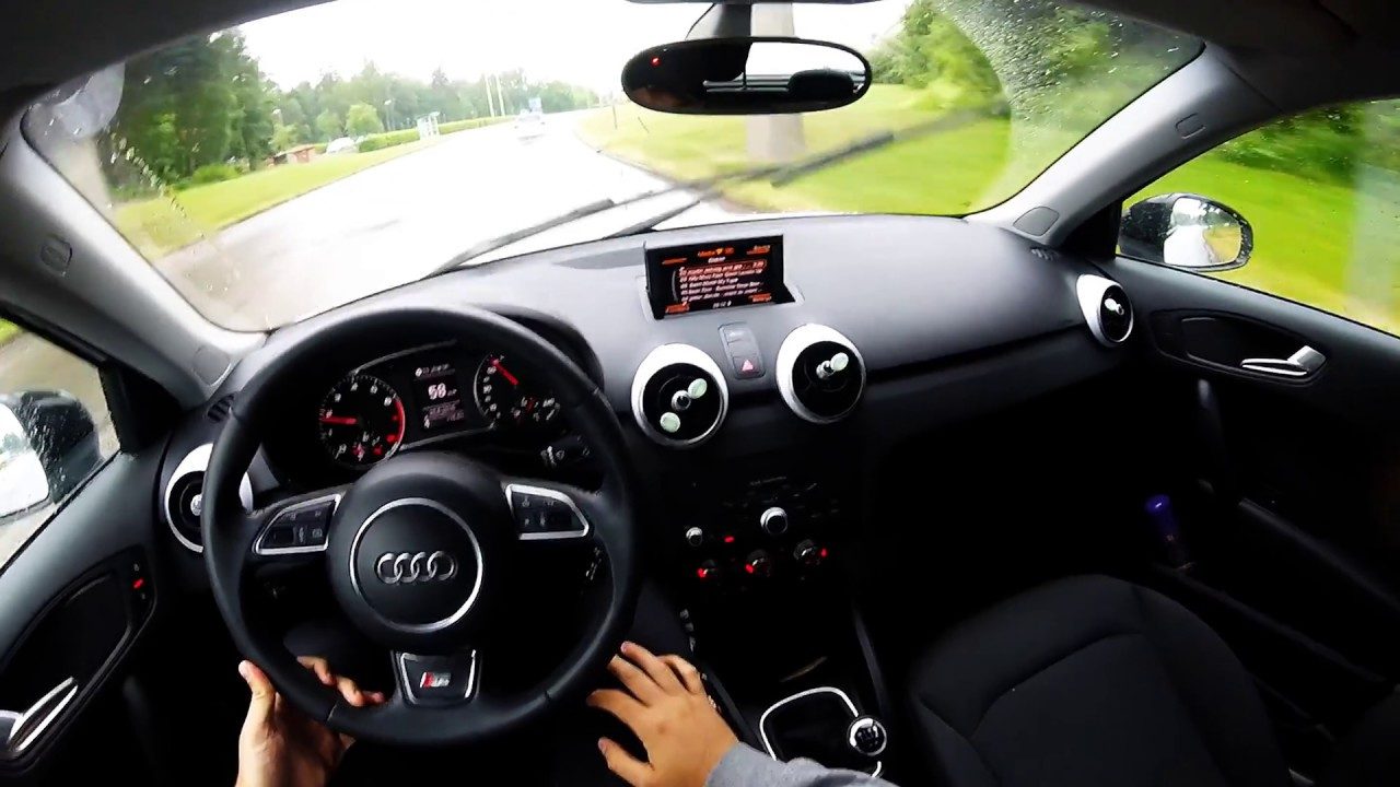 audi a1 1 2 tfsi sportback 2015 pov test drivepov onboard test drive gopro youtube. Black Bedroom Furniture Sets. Home Design Ideas