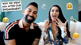 Why We Went MIA After Our Engagement | Dhar and Laura