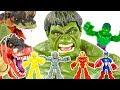 Avengers Infinity War Hulk Defeat Angry Tyrannosaurus! Avengers Go Go Go!   ToyMoon