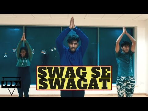 Swag Se Swagat I Tiger Zinda Hai I Salman Khan |@JeyaRaveendran Choreography feat Anoshinie