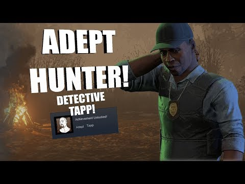 ADEPT TAPP!   Dead By Daylight DETECTIVE TAPP Achievement