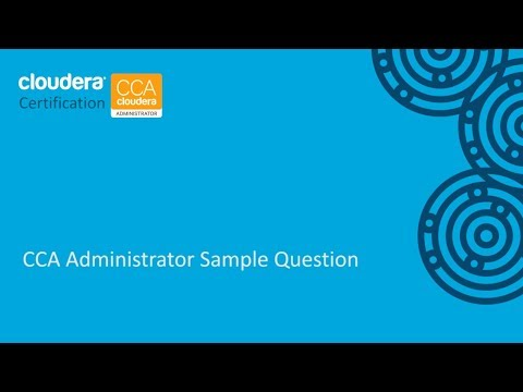 CCA Administrator Certification Sample Question (CCA131)