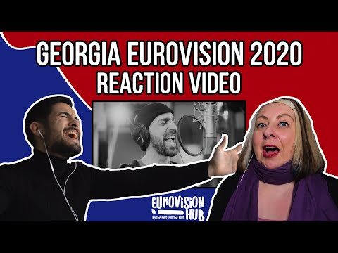 Georgia | Eurovision 2020 Reaction Video | Tornike Kipiani  - Take Me As I Am