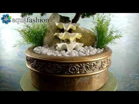 tischbrunnen antik 4 60 43 tisch brunnen mit bonsai baum pumpe