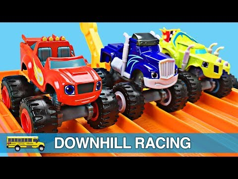 Thumbnail: Monster Trucks for Kids - Blaze and the Monster Machines Racing for Children & Toddlers