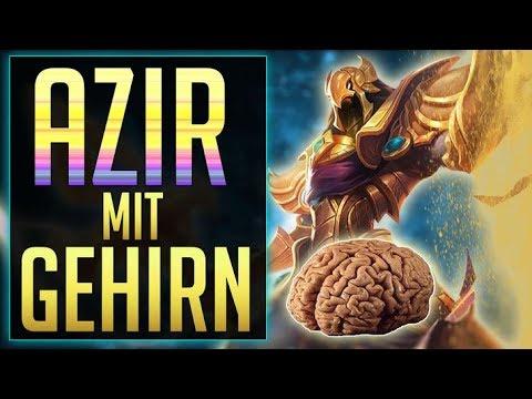 1v9 Azir mit Gehirn - Guide/Gameplay