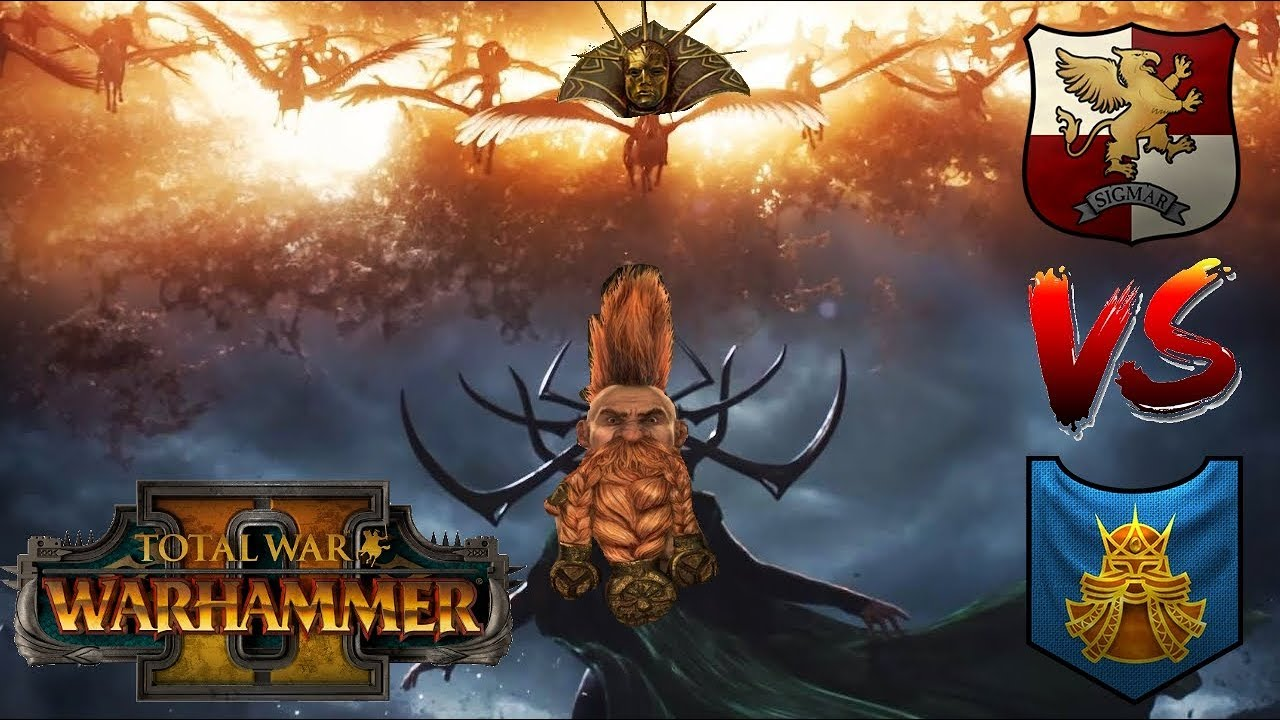 Empire Vs Dwarfs Release The Memes Total War Warhammer 2 Youtube