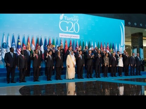 Live | G20 2015 Family Photo-Session in Antalya, Turkey