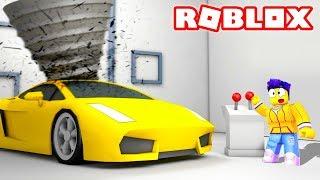 ОЧЕНЬ МОЩНО! РАСПИЛИЛ ОГРОМНОЙ ДРЕЛЬЮ СВОЮ САМУЮ ДОРОГУЮ МАШИНУ ЗА 999,999,999$ В РОБЛОКС (Roblox)