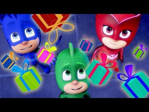 Heroes en Pijamas 🎄Episodios completos Navidad! 🎄PJ Masks Navidad | Dibujos Animados